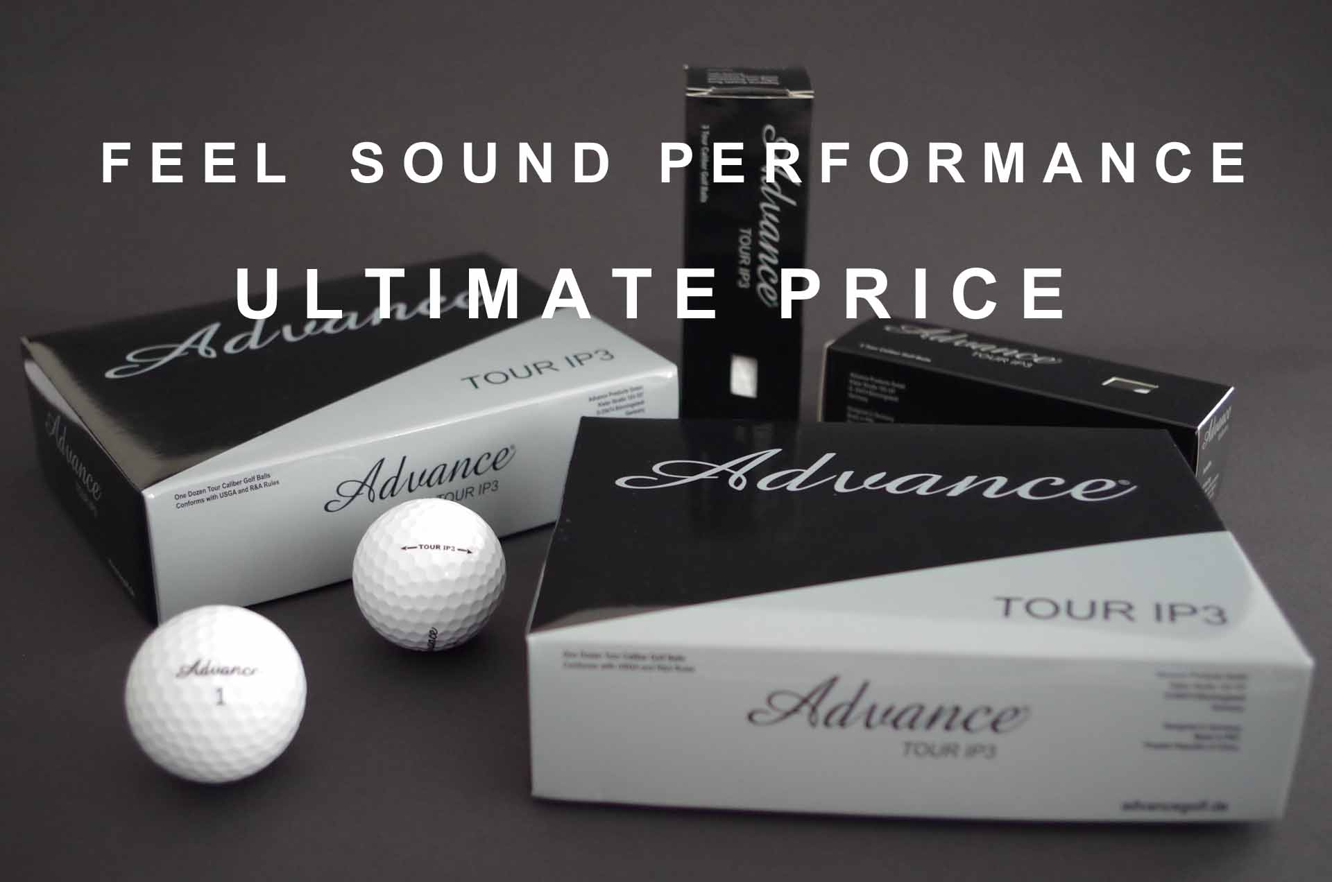 Golfball Advance Tour IP3 EN