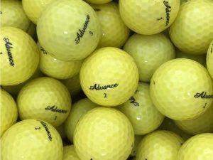 Advancegolf Golfball Soft IP2 gelb
